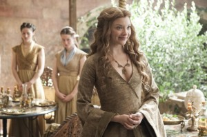 Queen Margaery is all smiles