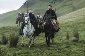 Sansa and Littlefinger ride again