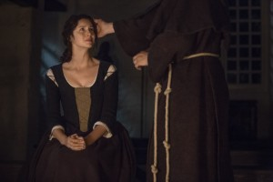 Claire receives absolution