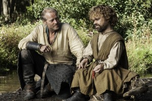 Jorah and Tyrion on the road