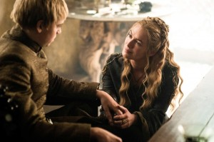Cersei tries to console King Tommen