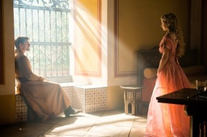 Princess Myrcella visits Jaime in