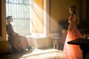 Princess Myrcella visits Jaime in