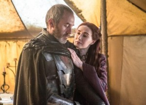 Melisandre tries to smooth things over with Stannis