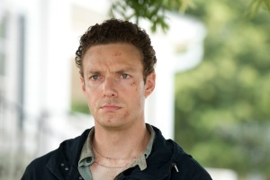 Ross Marquand as Aaron - The Walking Dead _ Season 6, Episode 5 - Photo Credit: Gene Page/AMC