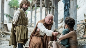 Tyrion and Lord Varys try to keep the peace