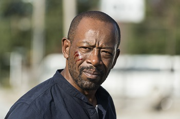 Lennie James as Morgan Jones - The Walking Dead _ Season 7, Episode 13 - Photo Credit: Gene Page/AMC