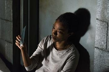 Sonequa Martin-Green as Sasha Williams- The Walking Dead _ Season 7, Episode 15 - Photo Credit: Gene Page/AMC