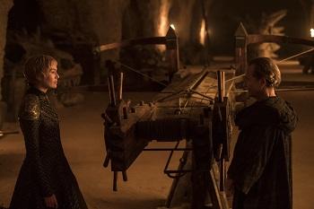 Cersei and Qyburn