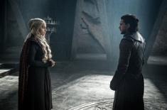 Jon and Dany spar