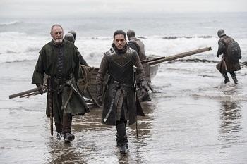 Jon arrives