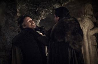 Jon chokes Littlefinger