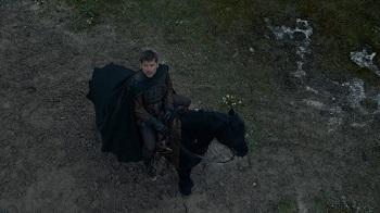 Jaime Sees Snow