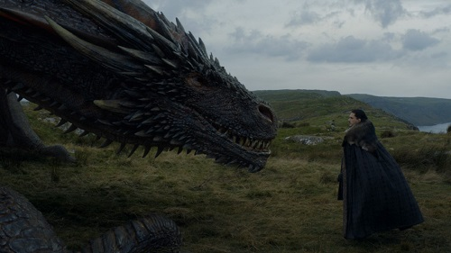 Jon and Drogon