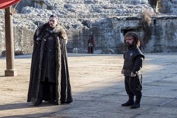 Jon and Tyrion